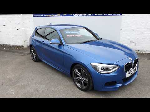Used BMW 1 Series 116d M Sport 3 Door 27751 Miles Free UK Delivery