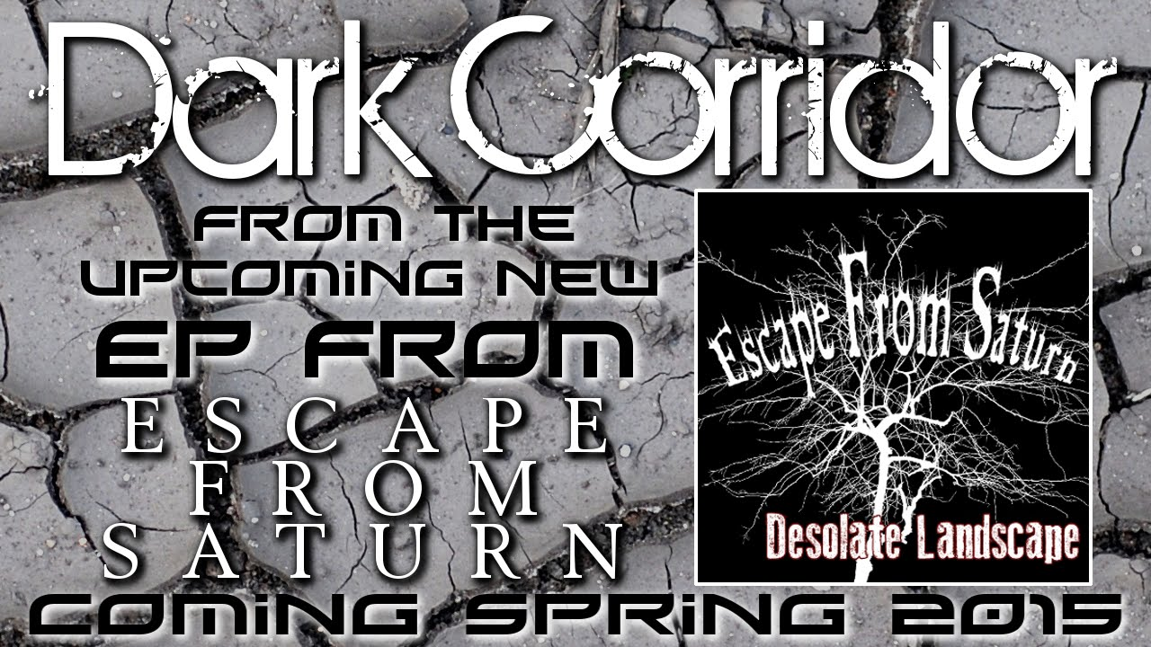 Dark Corridor (lyric video) by Escape From Saturn - industrial metalcore  post hardcore synth punk