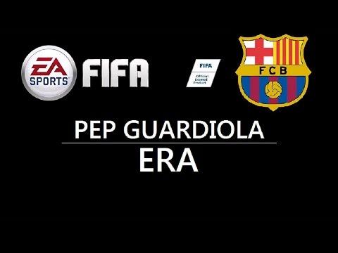 FIFA Custom Tactics:FC Barcelona Pep Guardiola's Era System HD