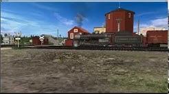 Quebec Central Railway: Lac Frontière 1959 Train #34