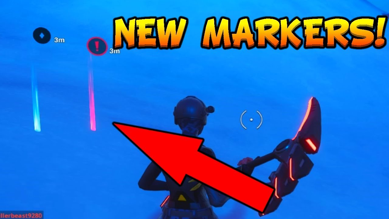 HOW TO USE NEW MARKERS / PIN CALLOUTS IN FORTNITE! - New Fortnite Ping  Callout System[Fortnite #296]