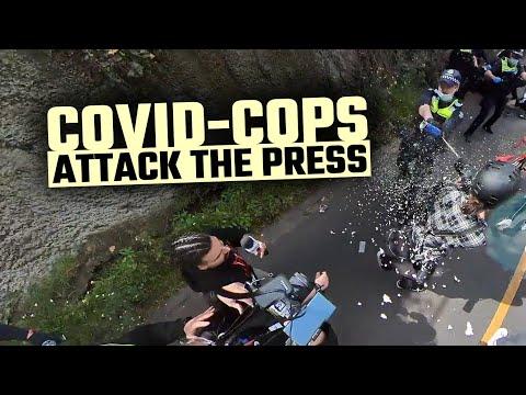 Australian police have started arresting journalists