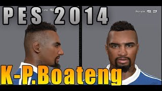 PES 2014 • K-P Boateng New Face & Hair | FC Schalke 04 Download • HD Thumbnail