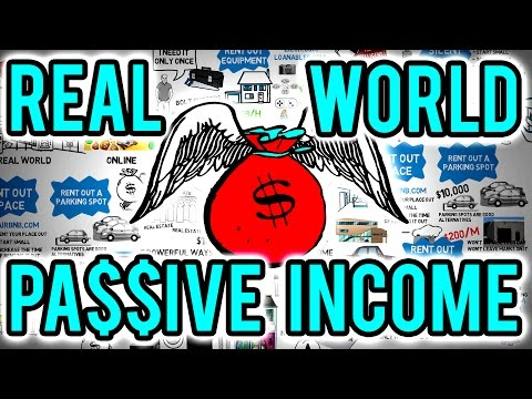 💰 7 Ways To Earn Passive Income In The Real World - How To Create Wealth With Passive Income