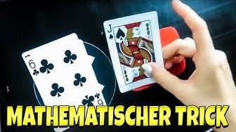 Dieser Kartentrick foolt sogar den Zauberer - Mathematisch und selbst arbeitend mit Erklärung