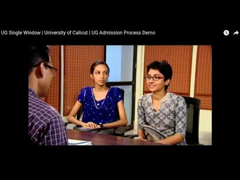 How to apply UG CAP 2018 | UG Single Window | University of Calicut | UG Admission Demo (2018)