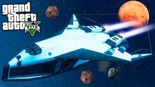 Улетел В Космос На Космическом Корабле В Гта 5! - Первый Космический Корабль В Космосе - Gta 5 Моды