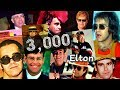watch he video of 3,000 Pictures Of Elton John In 2:30 Minutes
