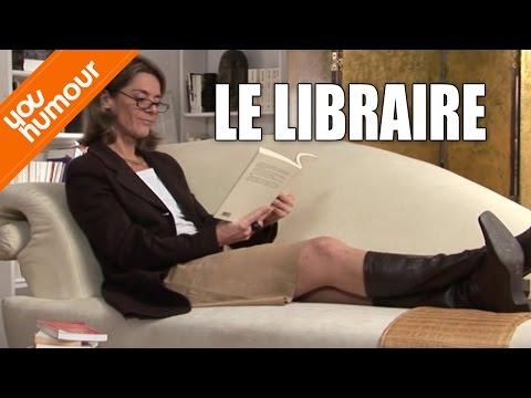 Victoire chez le psy, Le libraire
