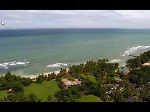 Explore Tanjung Lesung Indonesia from the Air