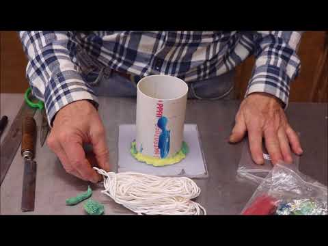 How to Make a Pillar Candle Mold & Pour a Candle