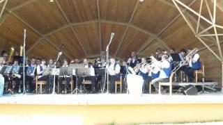 Kienholz Musikanten Teil2 in Dahn im Dahner Felsenland Kurpark Muschel carly4711 youtube