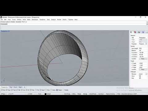 How To Create Signet Ring With Scoop In Rhino.