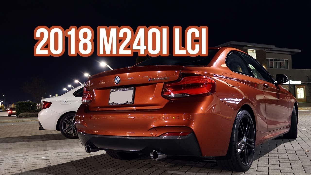 SAW THE NEW 2018 M240i LCI! - Night Drive //BMW M240i