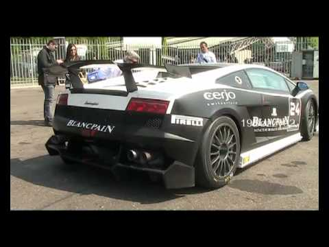 Lamborghini Gallardo Super Trofeo Loud V10 Sound Blancpain