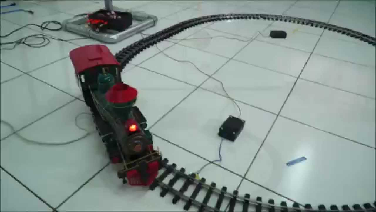 Automatic Railway Gate Based On Piezoelectric Sensor - The