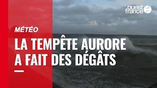 La tempête Aurore a balayé le Nord de la France et provoqué des dégâts