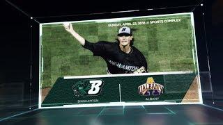 Binghamton Baseball vs. Albany Highlights