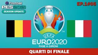 PES 2020 EURO 2020 - BELGIO v ITALIA Quarti di Finale - 1#05
