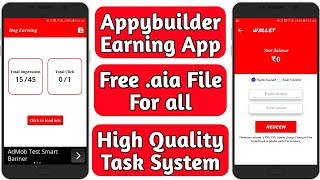 Video Appybuilder Earning app free .aia file | With High Quality Task System | Tech Developer download MP3, 3GP, MP4, WEBM, AVI, FLV Oktober 2018