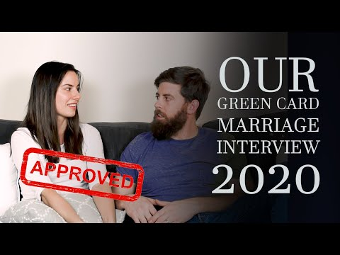 Green Card Interview Experience 2020 | Marriage To US Citizen