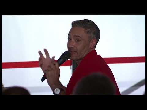 75th Venice Film Festival Press Conference - Taika Waititi answers his question