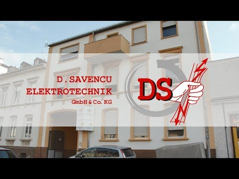 D.Savencu Elektrotechnik GmbH & Co. KG    Unternehmensfilm