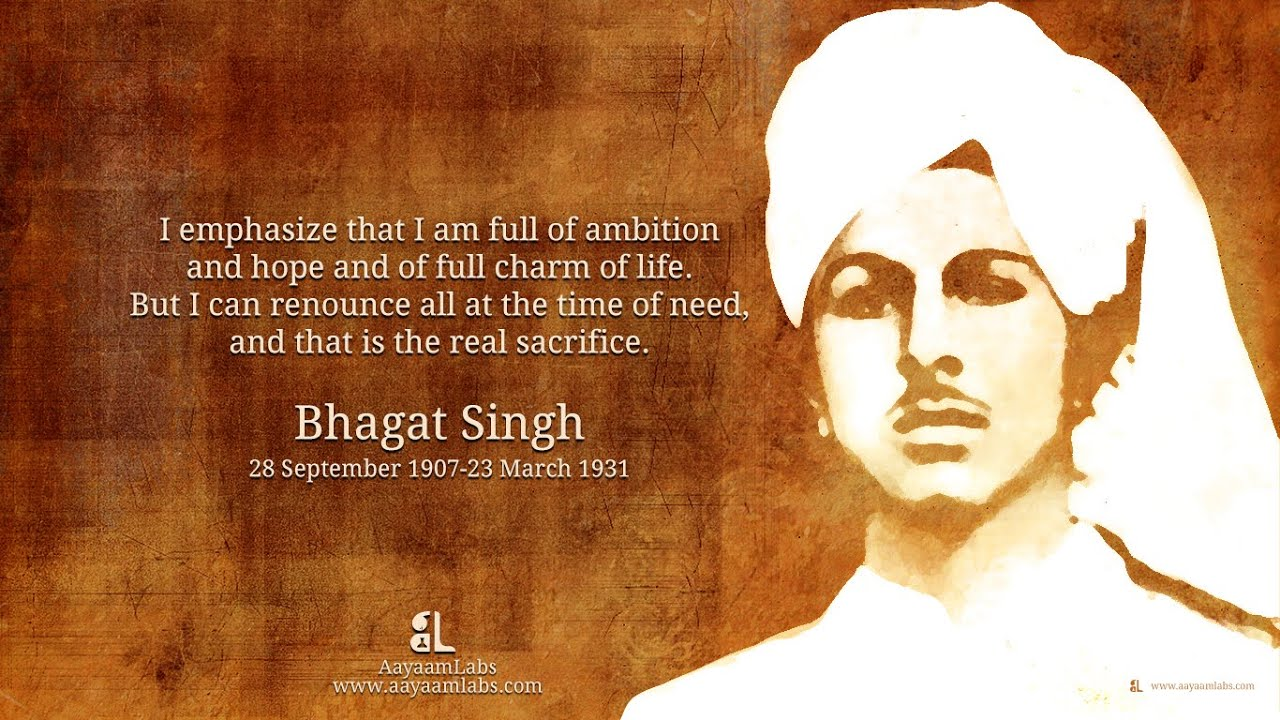 Superieur Special Happy Bhagat Singh Jayanti 2015 Whatsapp FB Facebook Messages  Quotes Wallpapers Download   YouTube