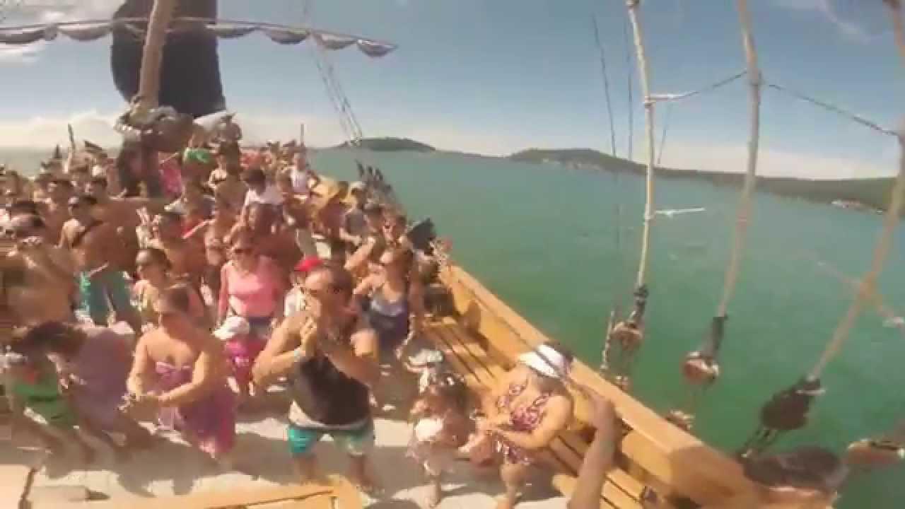 Fiesta en el Pergola Negra - Florianopolis - Pousada do Tuni