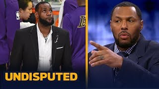 Eddie House: LeBron must return 100% from his injury or the Lakers season is over | NBA | UNDISPUTED