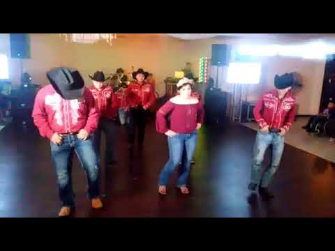 """Cumbia con la Luna"" Gladis' surprise dance (Betty Elías Choreography) Arlington TX"