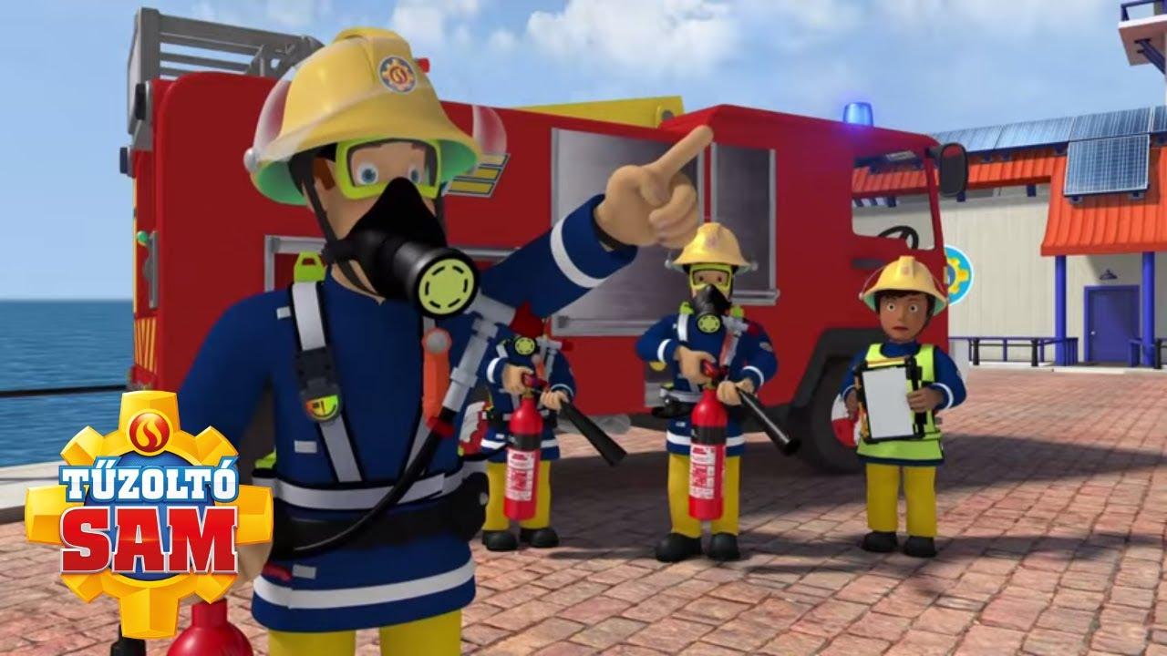 A tűzoltókocsi használata | tűzoltó sam tisztviselő | Rajzfilmek gyerekeknek