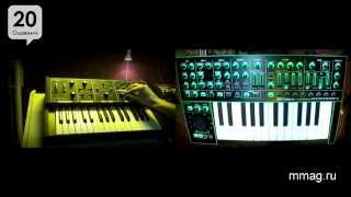 mmag.ru: Сравнение цифрового и аналогового фильтра синтезатора