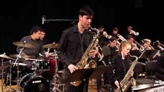 New Zealand Youth Jazz Orchestra 2015 - Love for Sale