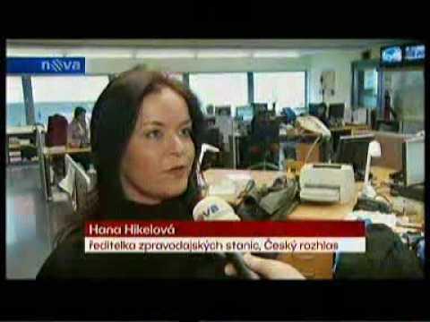 090331 - Cenzura media in the Czech Republic  (TV Nova)