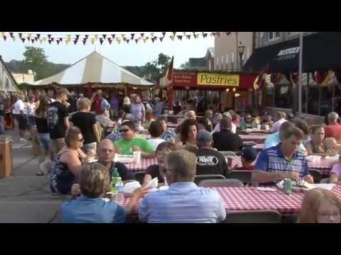Strassenfest - Jasper Indiana German Festival, Opening Night