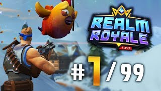 REALM ROYALE CLASSES!! VICTORY!! | Paladins Realm Royale Gameplay (Battlegrounds)