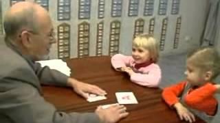 Обучение детей чтению. Методика С. Полякова. Видеофрагмент 4