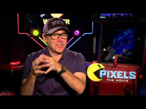 Pixels: Director Chris Columbus Official Movie Interview