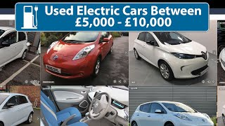 Best Used Electric Vehicles For £5k to £10k!