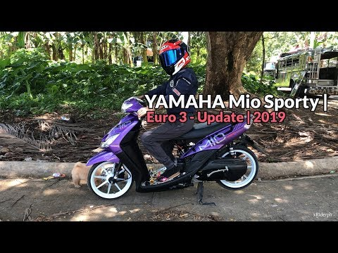 Yamaha Mio Sporty | Euro 3 - Update | KYT NF-R HELMET