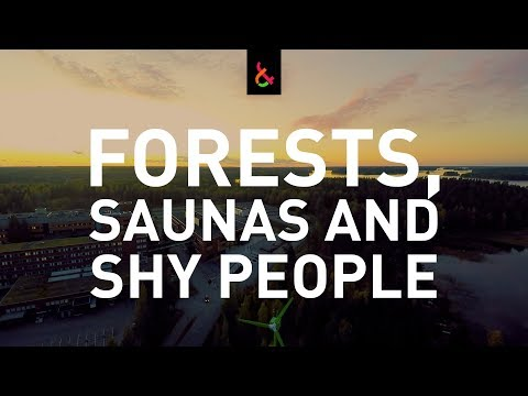 🌲  Forests, Saunas and Shy People - LUT