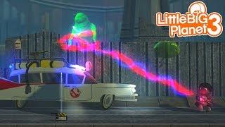 SACKBOY IS A GHOSTBUSTER | LittleBIGPlanet 3 Gameplay (Playstation 4)