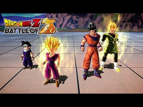 Dragon Ball Z Battle of Z  Team Gohan Gameplay
