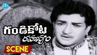 Gandikota Rahasyam Movie Scenes - NTR Meets King Jayanth    Jayalalitha    Rajanala