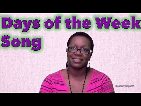 Days of the Week Song  LittleStoryBug