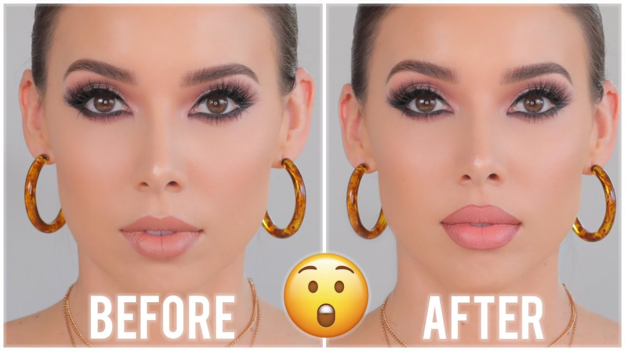 HOW TO MAKE YOUR LIPS LOOK BIGGER  LIP TIPS