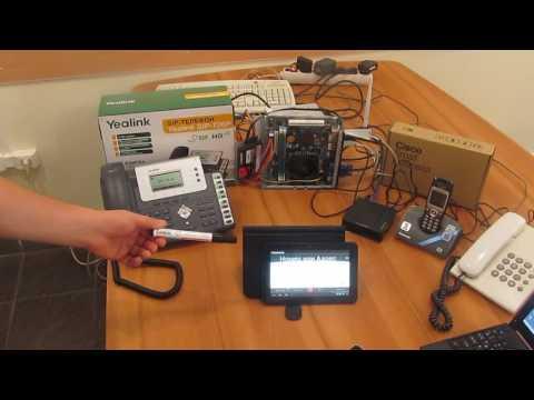 Краткий обзор IP телефонной станции Asterisk  и абонентских устройств