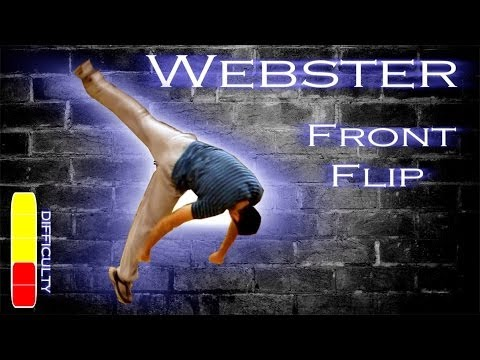 How to WEBSTER Front Flip  Free Running Tutorial