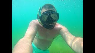 Подводная охота НОЧЬЮ видео